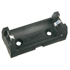 Battery holder for 2/3A (CR 123) FREI