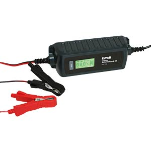 Intelligent battery charger 6/12 V 4 A FREI