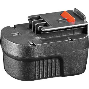 Replacement battery for BLACK&DECKER devices, 12 V FREI