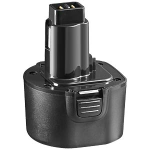 Replacement battery for BLACK&DECKER devices, 9.6 V FREI