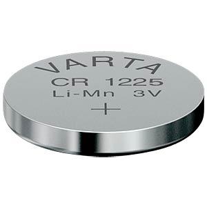 Lithium-Knopfzelle, 3 V, 48 mAh, 12,5x2,5 mm VARTA 6225101401