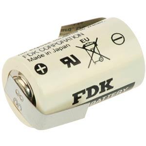 Lithium Batterie, 1/2 AA, 850 mAh, Z-Fahne, 1er-Pack FDK FDK CR14250SE-LFZ