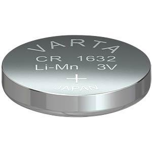 Lithium-Knopfzelle, 3 V, 140 mAh, 16x3,2 mm VARTA 6632101401