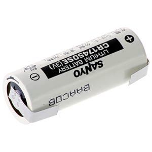 Lithium Batterie, A (Bobbin), 2500 mAh, U-Fahne, 1er-Pack FDK FDK CR17450SE-LFU