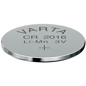 Varta button cell battery, 3 V, 90 mAh, 20x1.6 mm VARTA 6016101401