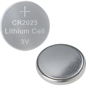 Lithium Knopfzelle, 3V, 20,0x2,5 mm, 10er Pack LOGILINK CR2025B10