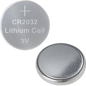 Lithium Knopfzelle, 3V, 20,0x3,2 mm, 10er Pack LOGILINK CR2032B10