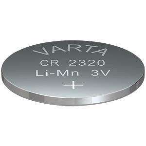Lithium-Knopfzelle, 3 V, 135 mAh, 23x2,0 mm VARTA 6320101401