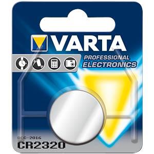 Varta Knopfzelle, 3V, 135mAh, 23x2,0mm VARTA 6320101401