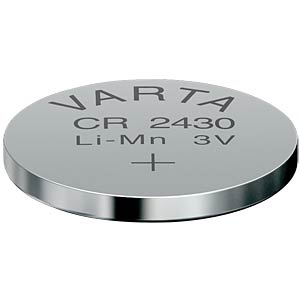 Varta button cell battery, 3 V, 280 mAh, 24.5x3.0 mm VARTA 6430101401