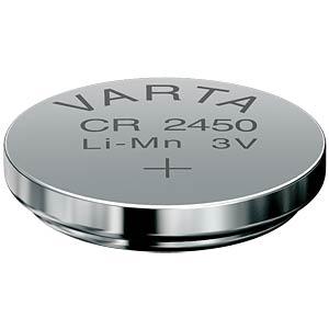 Varta Knopfzelle, 3V, 560mAh, 24,5x5,0mm VARTA 6450101401