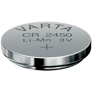 Lithium-Knopfzelle, 3 V, 560 mAh, 24,5x5,0 mm VARTA 6450101401