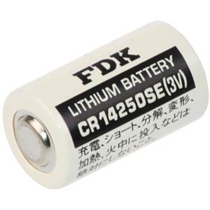 FDK CR 14250 SE lithium battery, 3.0 V FDK CR14250SE