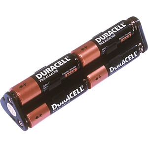 Batteriehalter für 6 Mignonzellen (AA) MEMORY PROTECTION DEVICES DU1-M-502