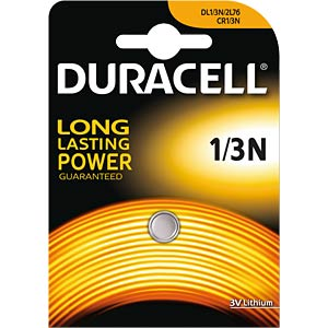 Lithium Batterie, CR1/3N, 170 mAh, 1er-Pack DURACELL