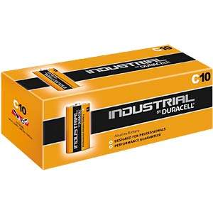 10-pack Duracell INDUSTRIAL, 1.5 V, LR14, C DURACELL MN1400/LR14