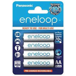 Panasonic eneloop Akkus, 4xMignon, 2000 mAh, HR-3UTGB PANASONIC HR-3UTGB