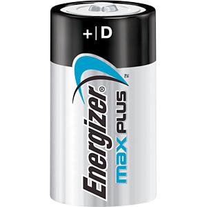 Max Plus, Alkaline Batterie, D (Mono), 2er-Pack ENERGIZER