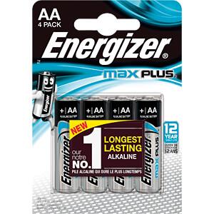 Max Plus, Alkaline Batterie, AA (Mignon), 4er-Pack ENERGIZER