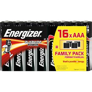 Energizer POWER Micro, pack of 16 ENERGIZER E300171700