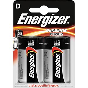 Energizer POWER Mono, pack of two ENERGIZER E300152200