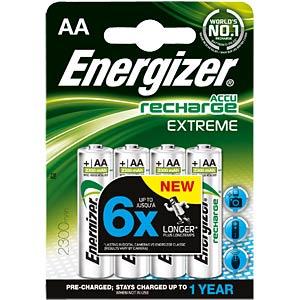 Energizer Extreme 4x AA accu, 2300mAh ENERGIZER E300624600