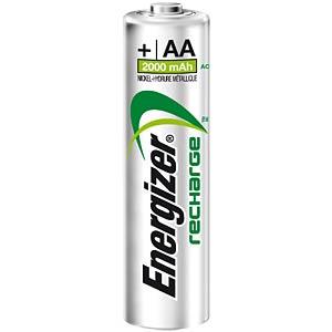 Energizer PowerPlus 4x AA rechargeable batteries, 2000 mAh ENERGIZER E300626700