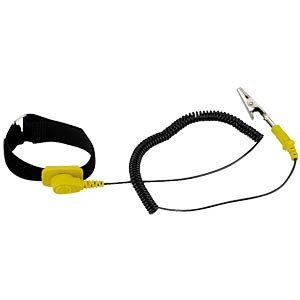 Anti-static wrist strap, including spiral cable SPROTEK ST-A601