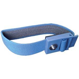 ESD-Kunststoffarmband, Druckknopf 3mm STAT-X 910900 000015