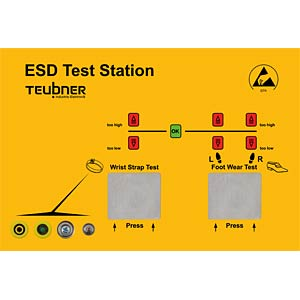 Teubner ESD test station FREI