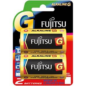 2er-Pack Fujitsu Alkaline-Batterien, Mono, D FUJITSU FULR20G