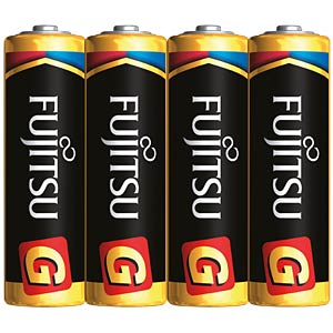 4er-Pack Fujitsu Alkaline-Batterien, Mignon, AA FUJITSU FULR6G