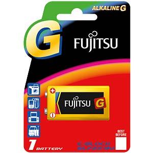1er-Pack Fujitsu Alkaline-Batterien, 9-V-Block FUJITSU FU6LF22G
