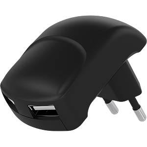 Dual USB-Ladegerät 2,1 A, schwarz GOOBAY 63790