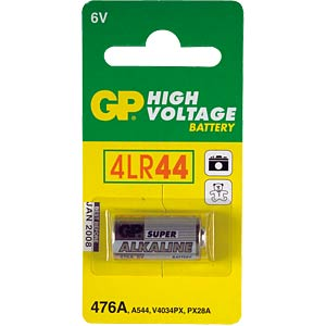 Alkaline battery, cylindrical, 6 V, 105 mAh GP-BATTERIES GP476A