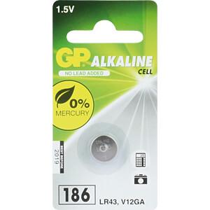 GP LR 43 - Alkaline Knopfzelle