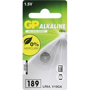 GP LR 54 - Alkaline Knopfzelle