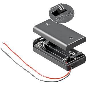 HALTER 2XAA - Batteriehalter für 2 Mignon (AA)