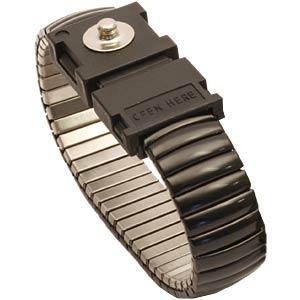 ESD Armband, Metall, Erdungsarmband, verstellbar, elastisch STAT-X 910900 000005