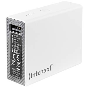 Powerbank, Softtouch, 6600 mAh, weiß INTENSO 7333522