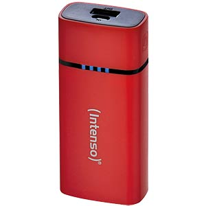 Intenso Powerbank, 5200 mAh, red INTENSO 7320526