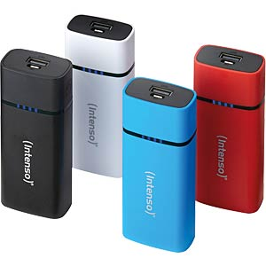 Intenso Powerbank, 5200 mAh, black INTENSO 7320520