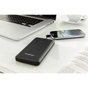Intenso Powerbank, 10000 mAh, Slim, zw INTENSO