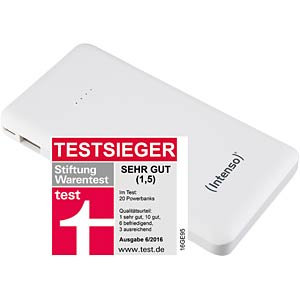 Intenso Powerbank, 10000 mAh, Slim, ws INTENSO 7332532