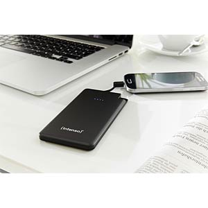 Intenso Powerbank, 5000 mAh, Slim, zw INTENSO 7332520