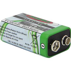 SuperCell, Alkaline Batterie, 9-V-Block, 1er-Pack JAMARA 140260