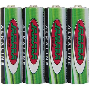 SuperCell, Alkaline Batterie, AA (Mignon), 4er-Pack JAMARA 140266