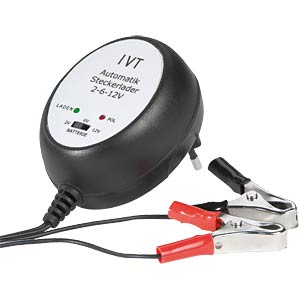 Automatic plug-in charger 600 mA/2 V/6 V/12 V IVT GMBH 911005