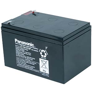 Cyclic lead battery, 12 V, 12 Ah PANASONIC LC-CA1212P1