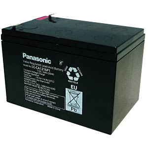 Cyclic lead battery, 12 V, 16 Ah PANASONIC LC-CA1216P1